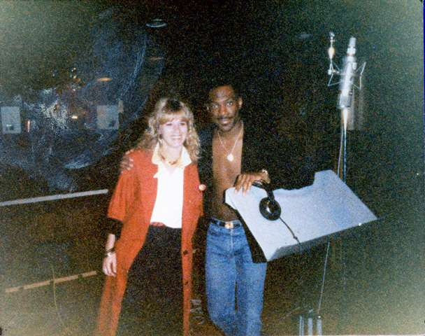 Eddie Murphy and Sandy Lee Casey