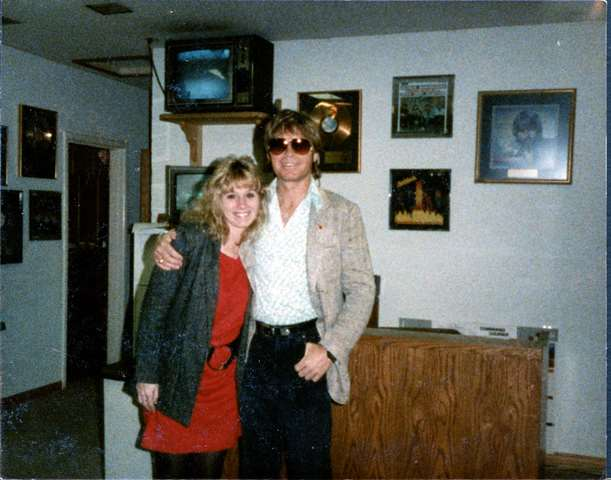 John Denver and Sandy Lee Casey